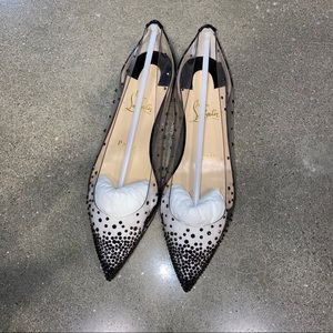 Christian Louboutin Flats with Gems